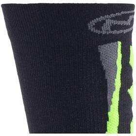 Northwave Extreme Winter Hoge Sokken, black/green fluo